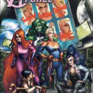 A-Force #5 Meghan Hetrick The Story Thus Far...  Variant Cover [2016] VF/NM Marvel Comics