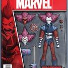 Deadpool & The Mercs for Money #4 Action Figure Variant Cover [2016] VF/NM Marvel Comics