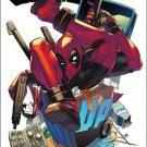 Deadpool's Secret Secret Wars #4 Yusuke Kozaki Manga Variant Cover [2016] VF/NM Marvel Comics