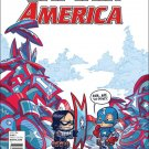 Captain America: Steve Rogers #1 Skottie Young Baby Variant Cover [2016] VF/NM Marvel Comics
