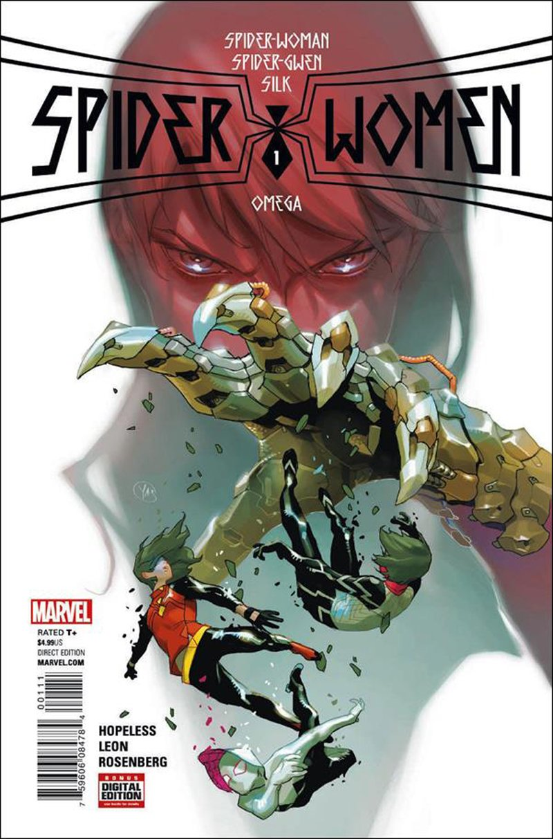 Spider-Woman Omega #1 [2016] VF/NM Marvel Comics
