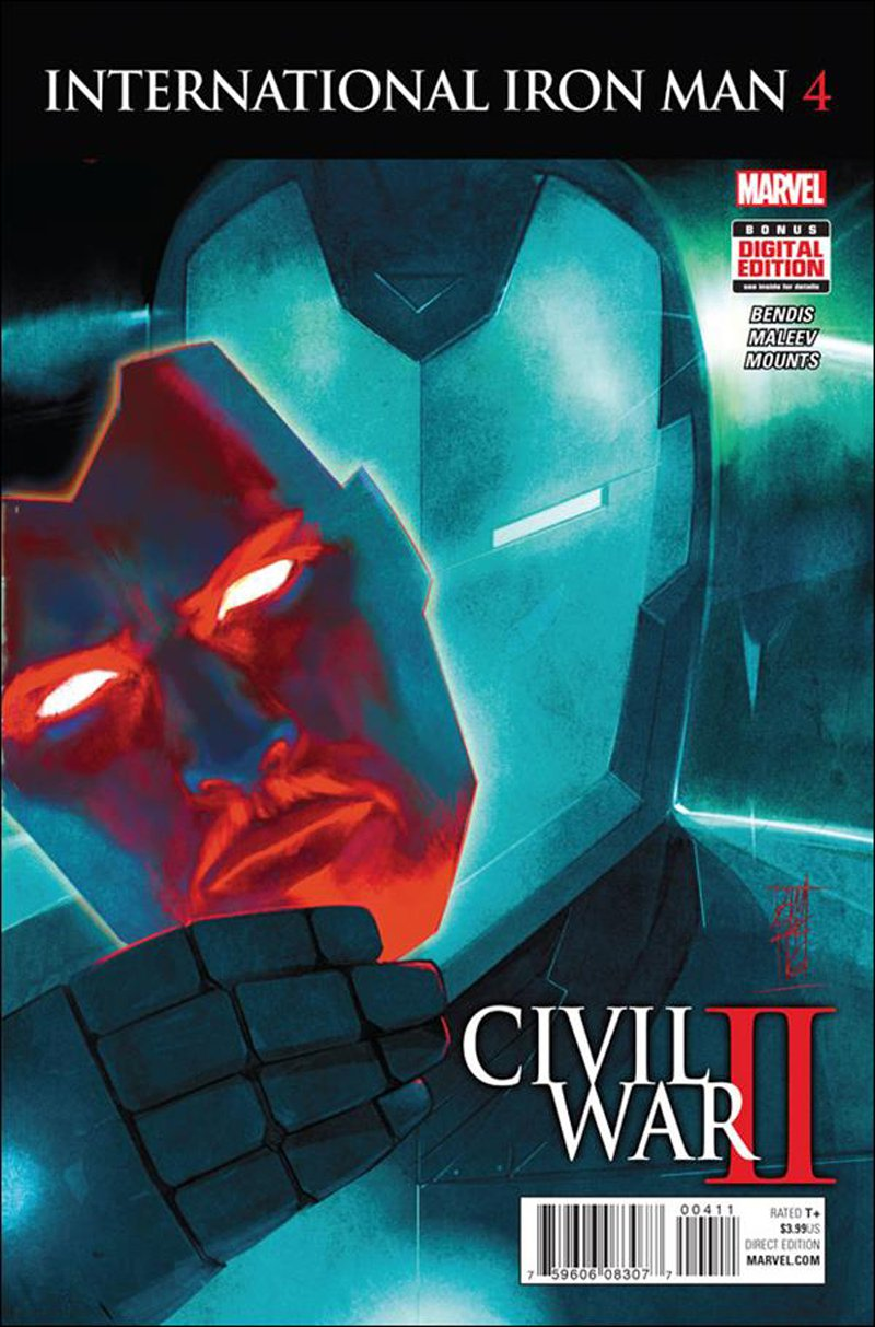 International Iron Man #4 [2016] VF/NM Marvel Comics