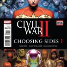 Civil War II: Choosing Sides #1 [2016] VF/NM Marvel Comics