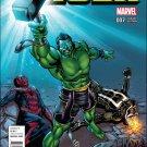 Totally Awesome Hulk #7 Mike Perkins Civil War Reenactment Variant Cover [2016] VF/NM Marvel Comics