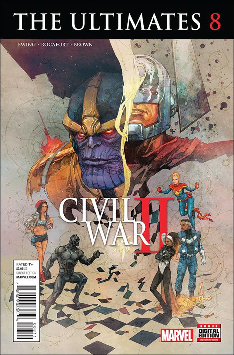 Ultimates #8 [2016] VF/NM Marvel Comics