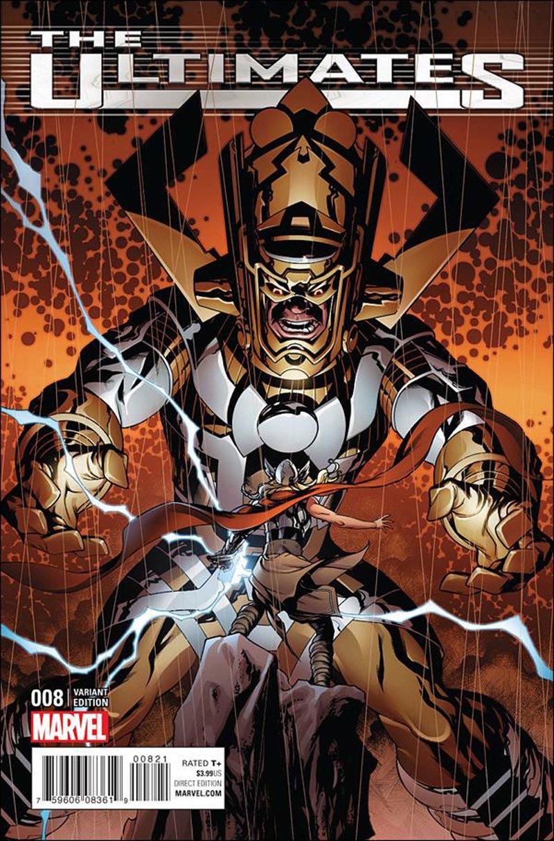 Ultimates #8 Mike McKone Civil War Reenactment Variant Cover [2016] VF/NM Marvel Comics