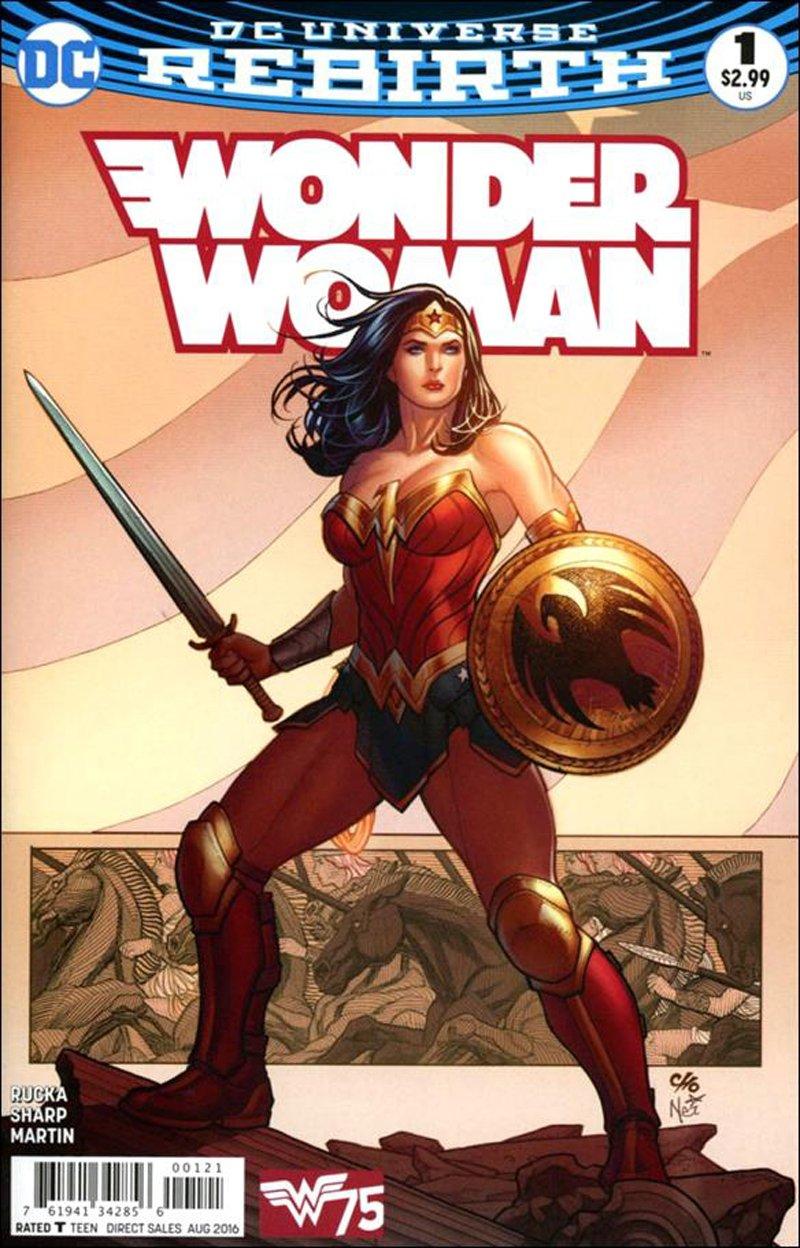 Wonder Woman #1 Frank Cho Variant Cover [2016] VF/NM DC Comics