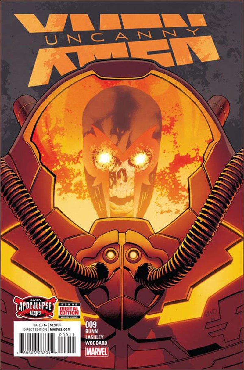 Uncanny X-Men #9 [2016] VF/NM Marvel Comics