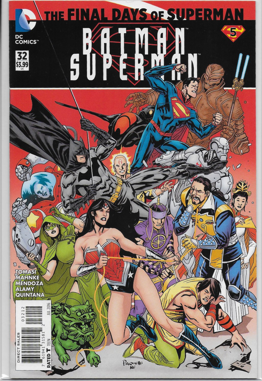 Batman / Superman #32 [2016] Second Printing! VF/NM DC Comics