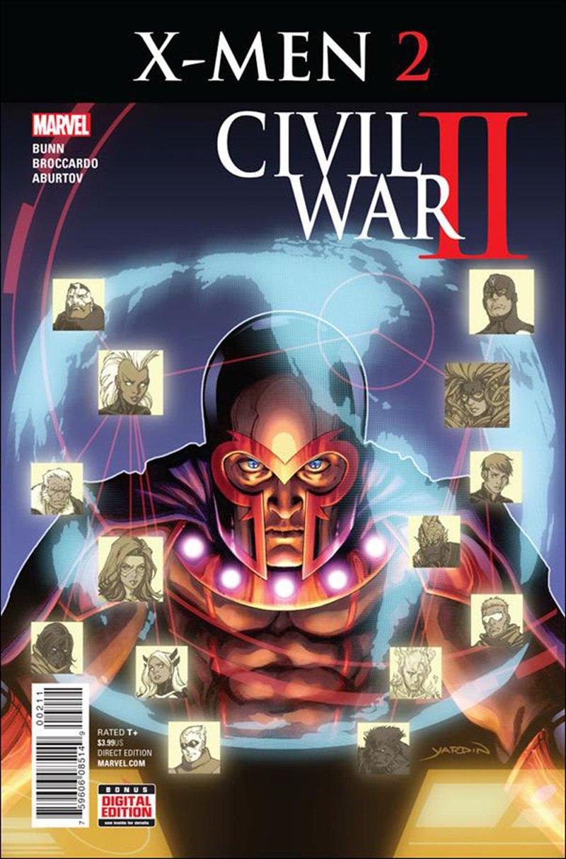 Civil War II: X-Men #2 [2016] VF/NM Marvel Comics