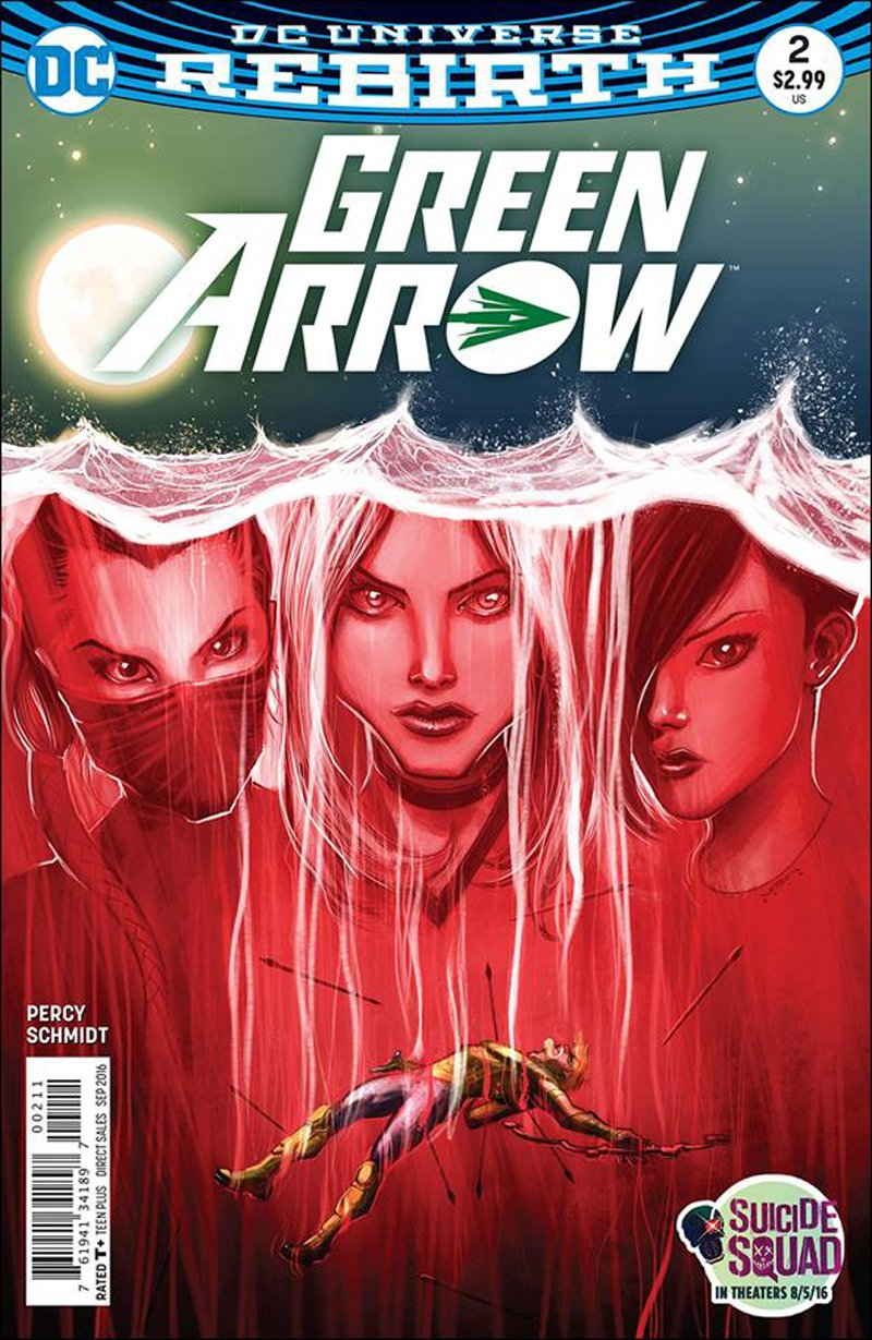 Green Arrow #2 [2016] VF/NM DC Comics