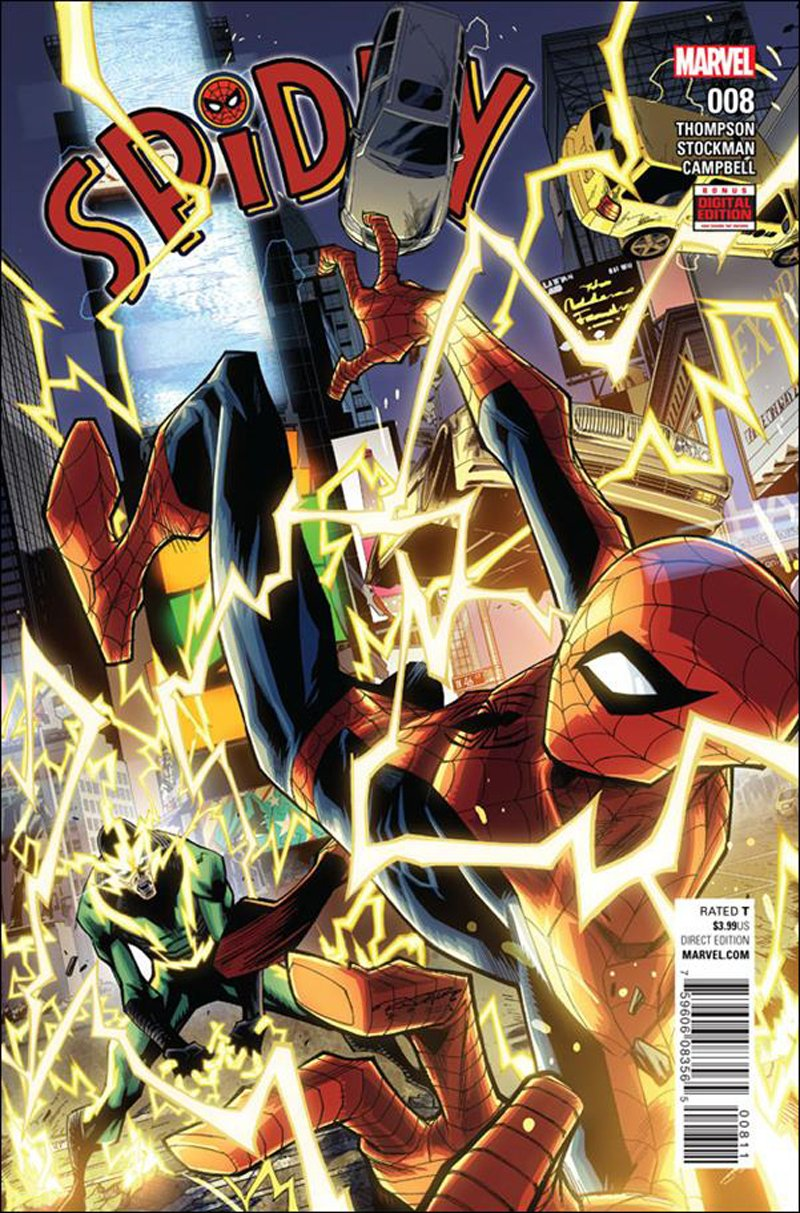 Spidey #8 [2016] VF/NM Marvel Comics