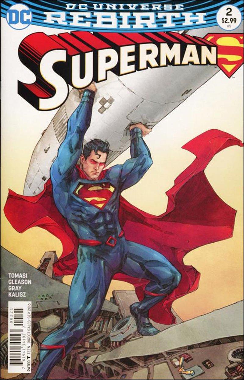 Superman #2 Kenneth Rocafort Variant Cover [2016] VF/NM DC Comics