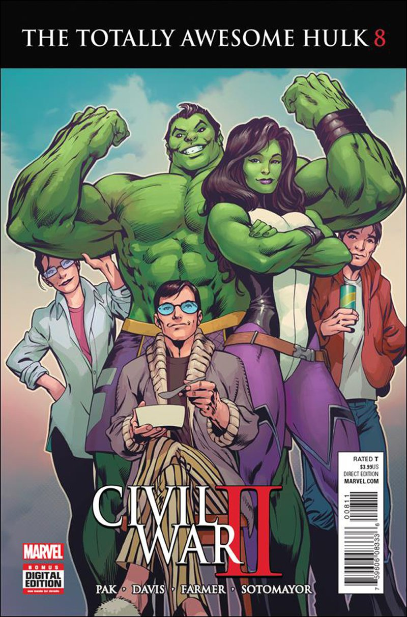 Totally Awesome Hulk #8 [2016] VF/NM Marvel Comics