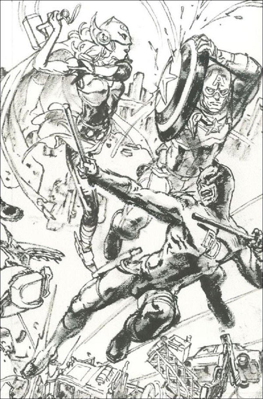 Civil War II #3 Kim Jung Gi Connecting Variant Cover [2016] VF/NM Marvel Comics