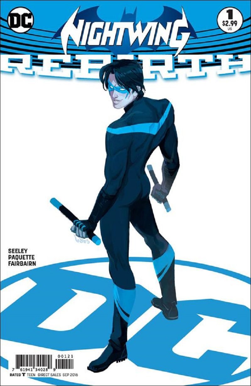 Nightwing: Rebirth #1 Babs Tarr Variant Cover [2016] VF/NM DC Comics