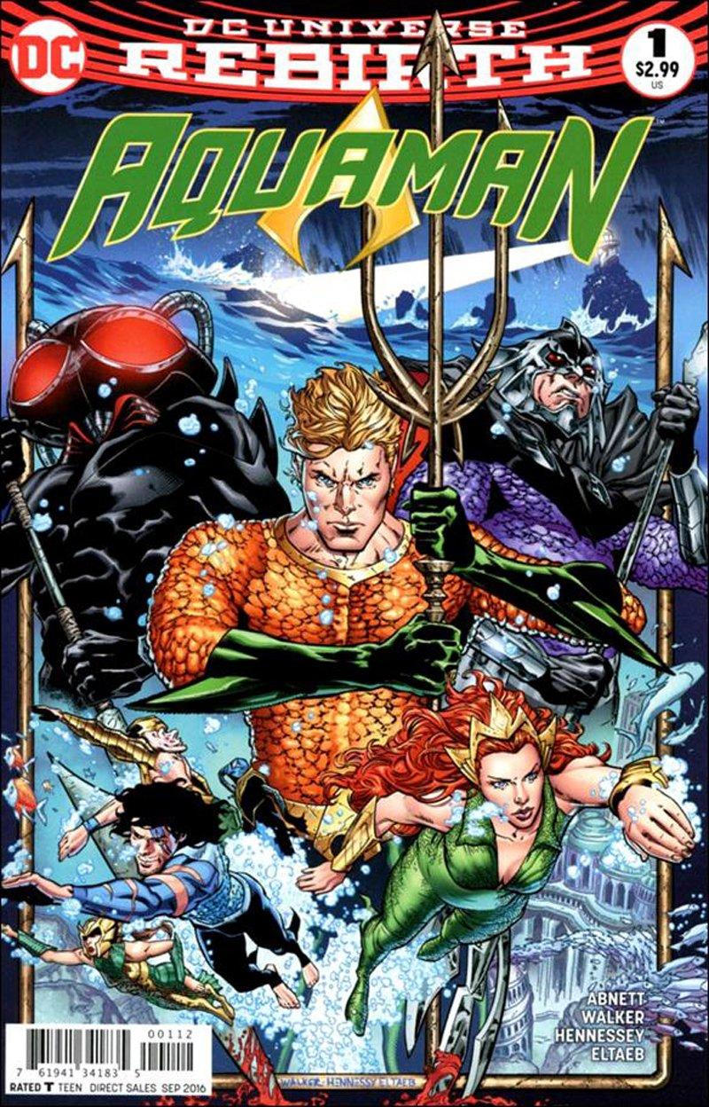 Aquaman #1 Second Printing! [2016] VF/NM DC Comics