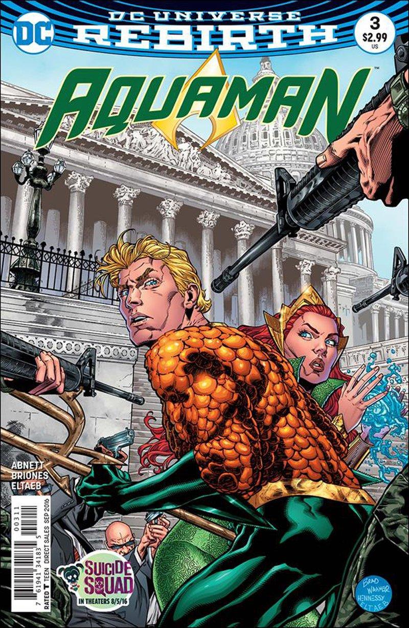 Aquaman #3 [2016] VF/NM DC Comics
