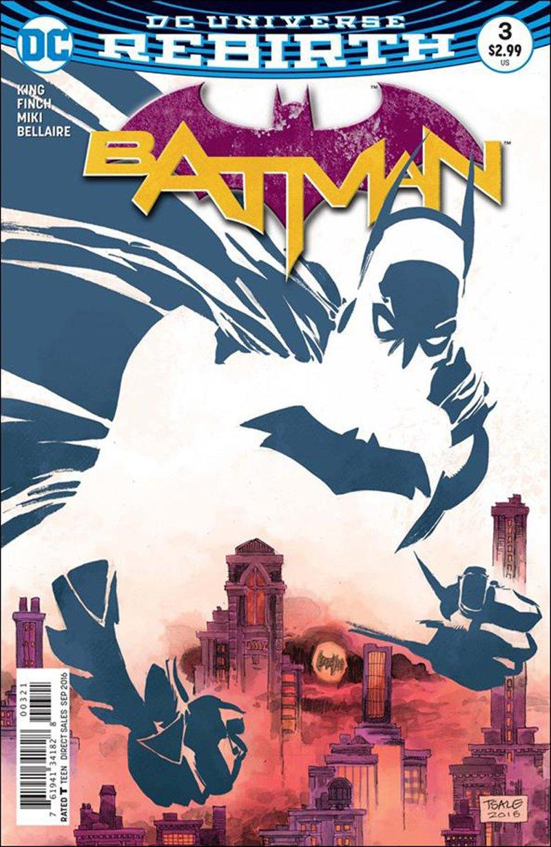 Batman #3 Tim Sale Variant Cover [2016] VF/NM DC Comics