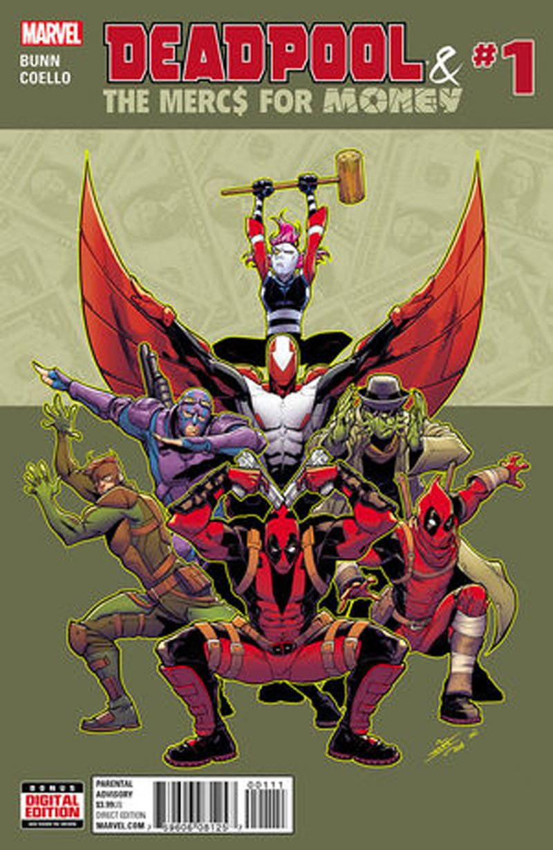 Deadpool & The Mercs for Money #1 (Vol 2) [2016] VF/NM Marvel Comics
