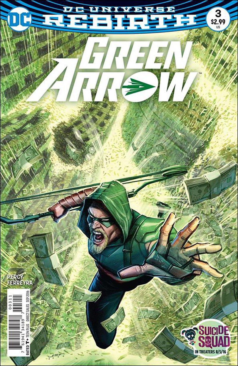 Green Arrow #3 [2016] VF/NM DC Comics