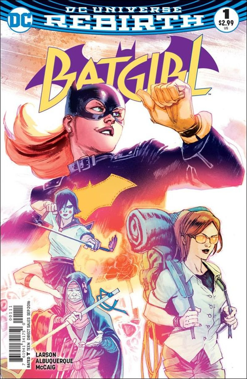 Batgirl #1 (2016)  VF/NM DC Comics