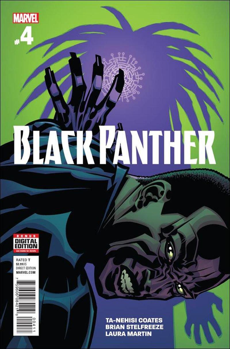 Black Panther #4 [2016] VF/NM Marvel Comics