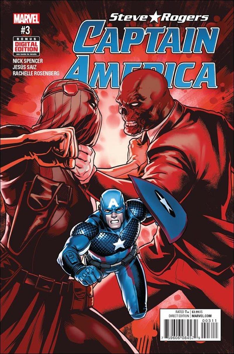 Captain America: Steve Rogers #3 [2016] VF/NM Marvel Comics