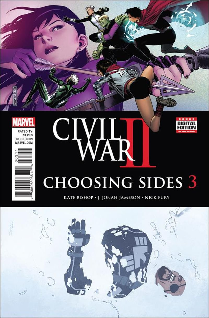 Civil War II: Choosing Sides #3 [2016] VF/NM Marvel Comics