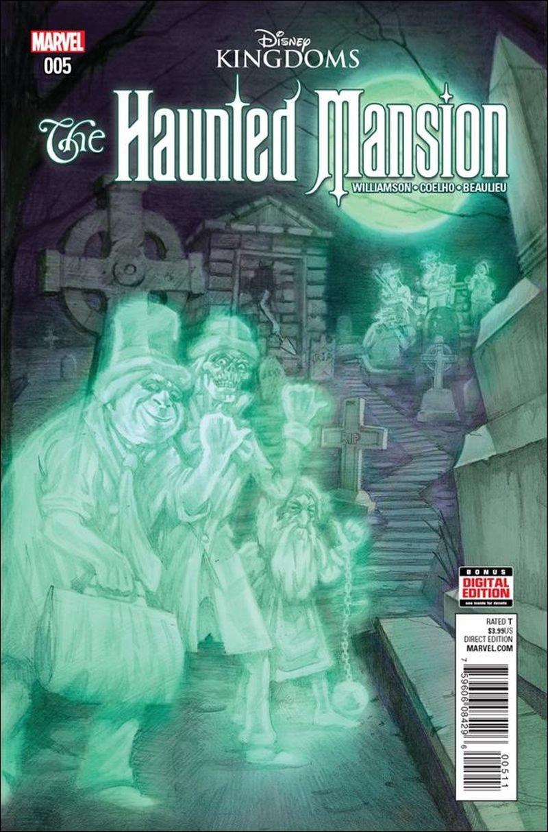 Haunted Mansion #5 [2016] VF/NM Marvel Comics