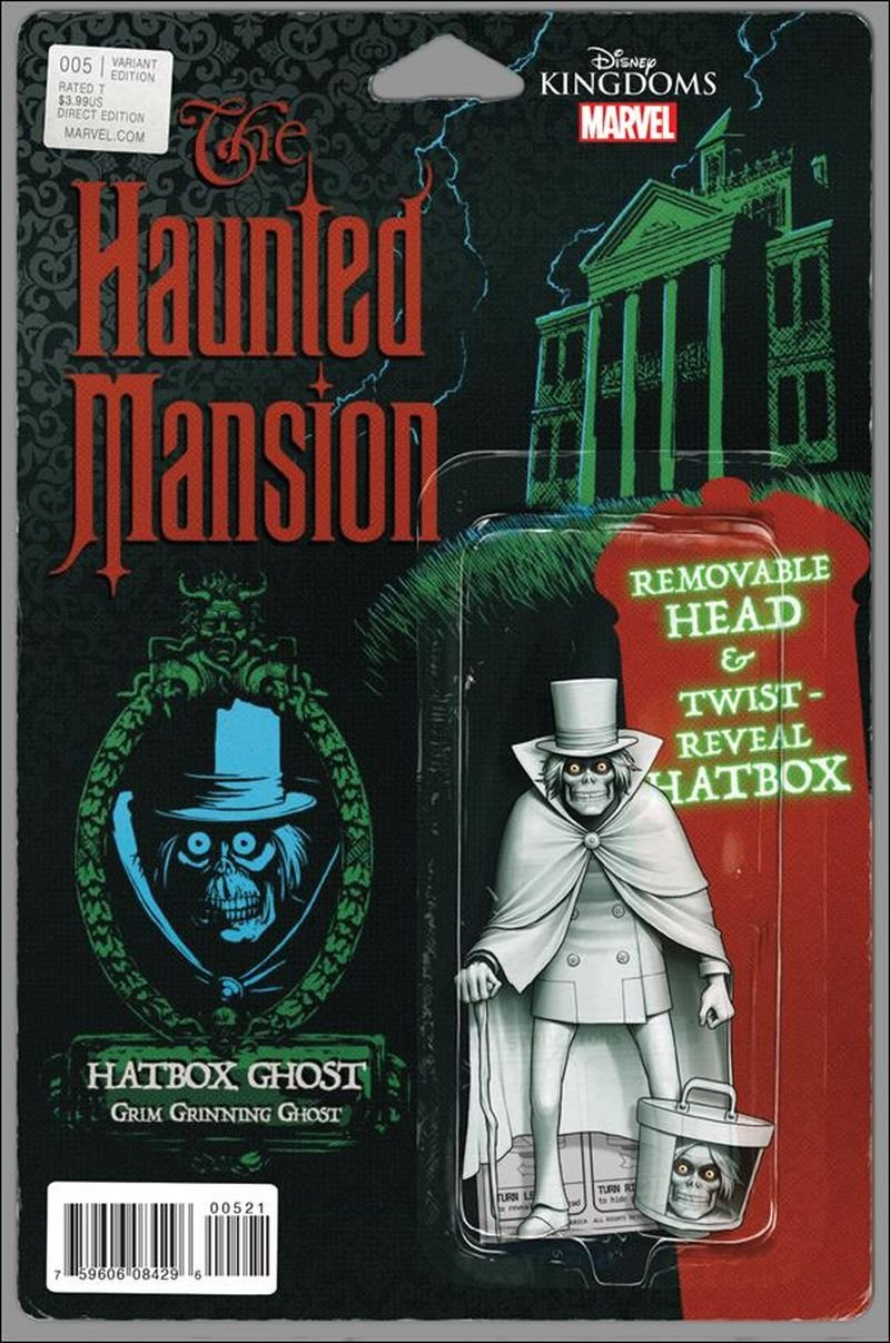 Haunted Mansion #5 [2016] John Tyler Christopher Action Figure Cover VF/NM Marvel Comics