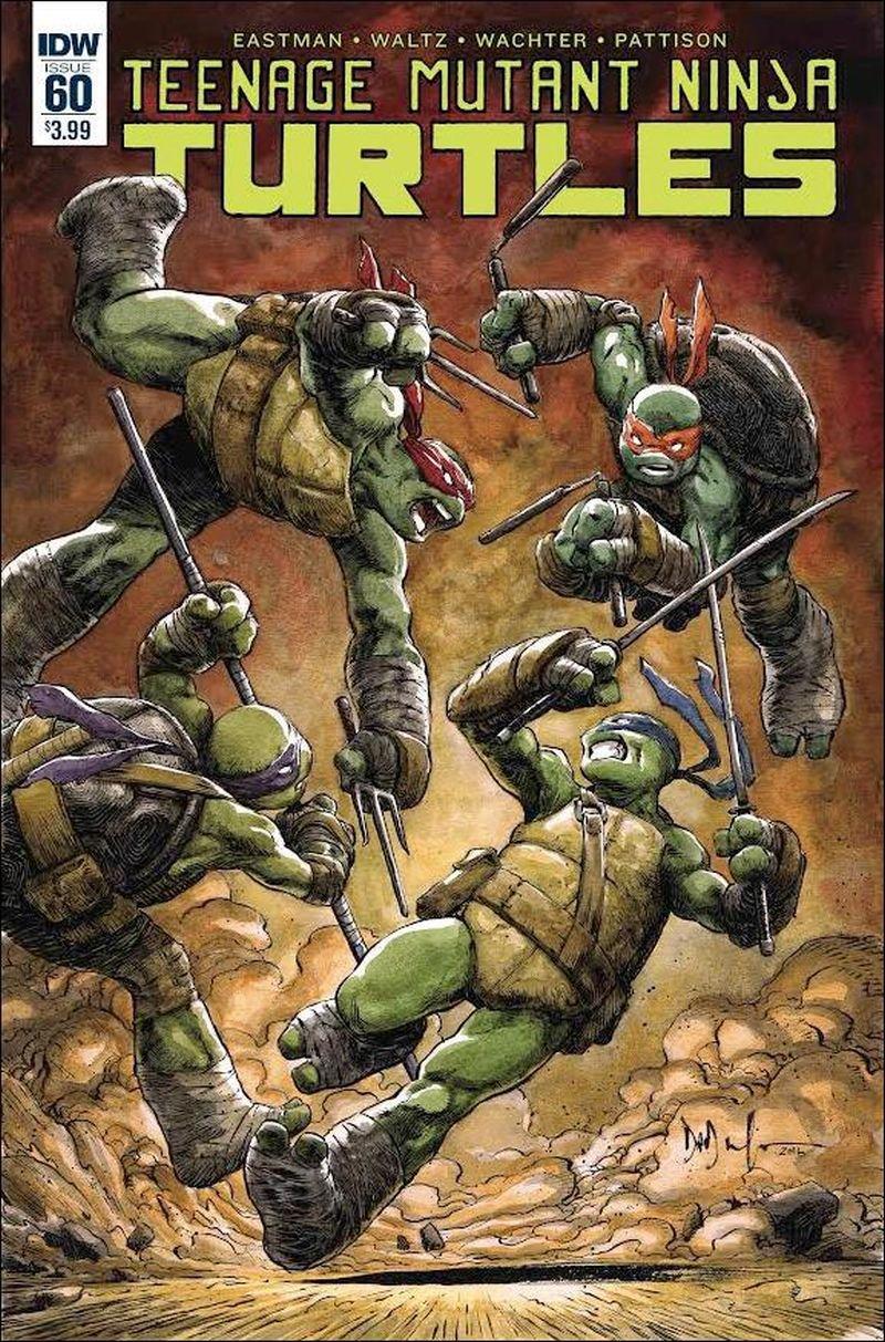 Teenage Mutant Ninja Turtles #60 [2016] VF/NM IDW Comics