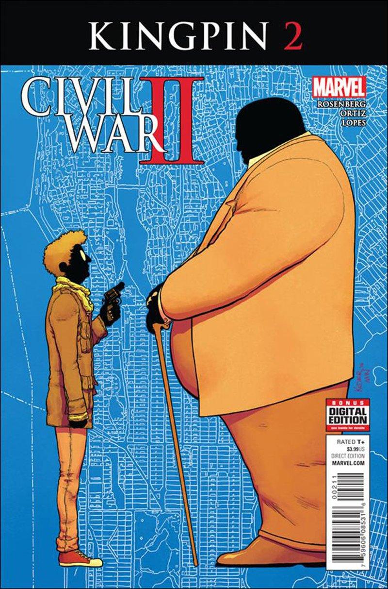 Civil War II: Kingpin #2 [2016] VF/NM Marvel Comics