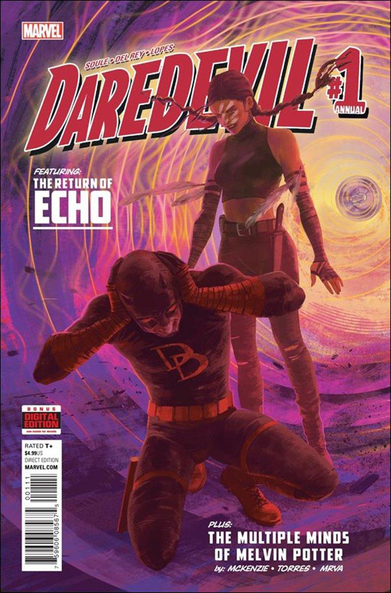 Daredevil Annual #1 [2016] VF/NM Marvel Comics