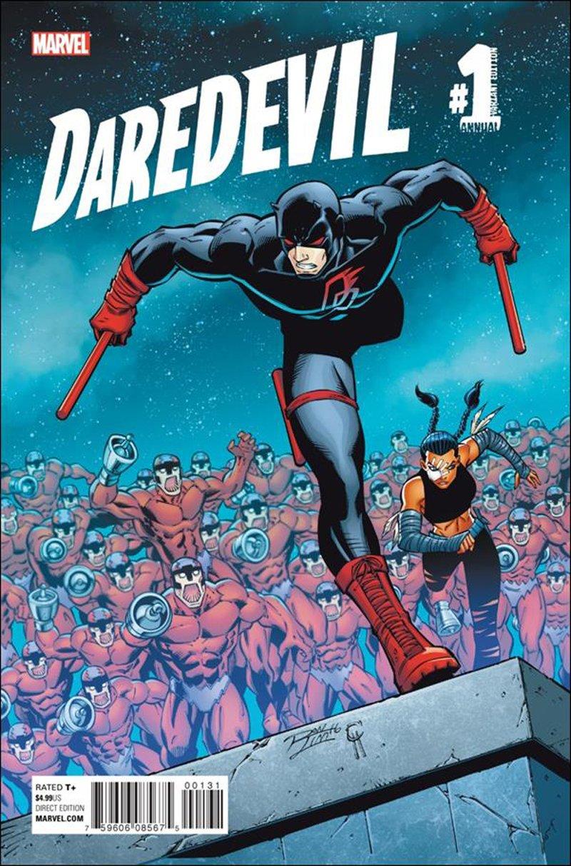 Daredevil Annual #1 Ron Lim Variant Cover [2016] VF/NM Marvel Comics