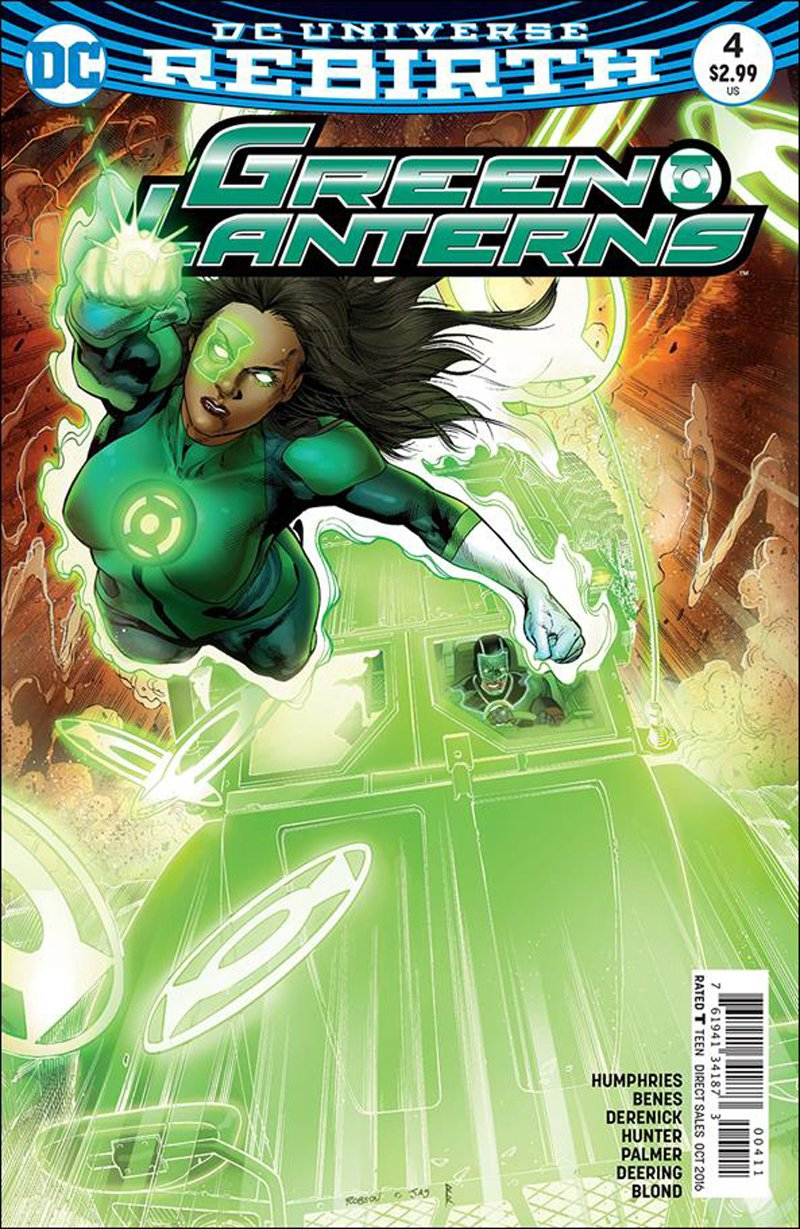 Green Lanterns #4 [2016] VF/NM DC Comics