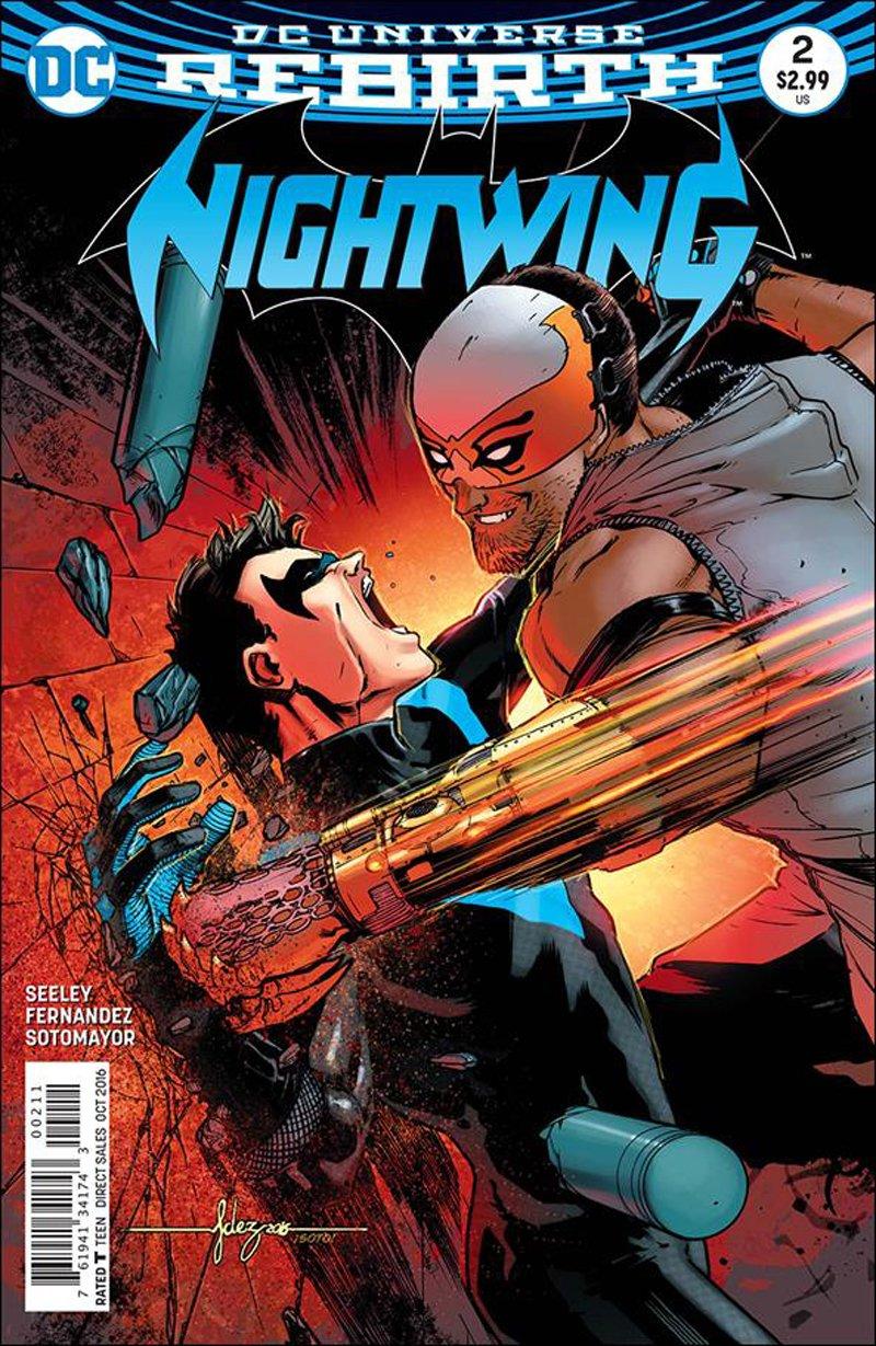 Nightwing #2 [2016] VF/NM DC Comics