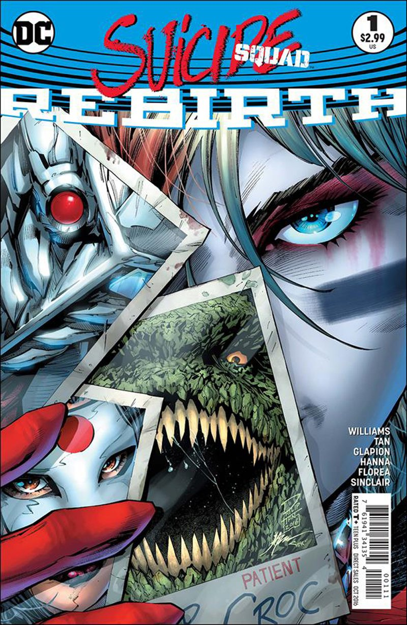 Suicide Squad: Rebirth #1 [2016] VF/NM DC Comics