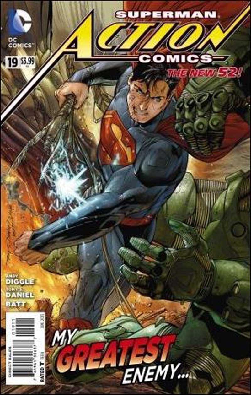 Action Comics #19 [2013] VF/NM DC Comics