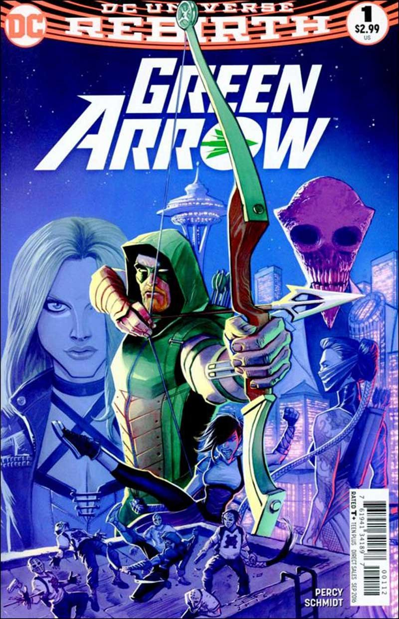Green Arrow #1 Second Printing [2016] VF/NM DC Comics