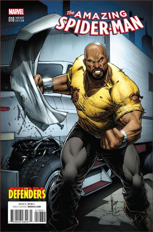 Amazing Spider-Man #18 Dale Keown Defenders Variant [2016] VF/NM Marvel Comics