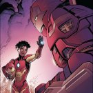 Invincible Iron Man #1 [2016] VF/NM Marvel Comics *Divided We Stand variant*
