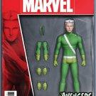 Avengers #1.1 Christopher Action Figure Variant [2017] VF/NM Marvel Comics