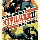 Civil War II #6 Michael Cho Fight Poster [2016] VF/NM Marvel Comics