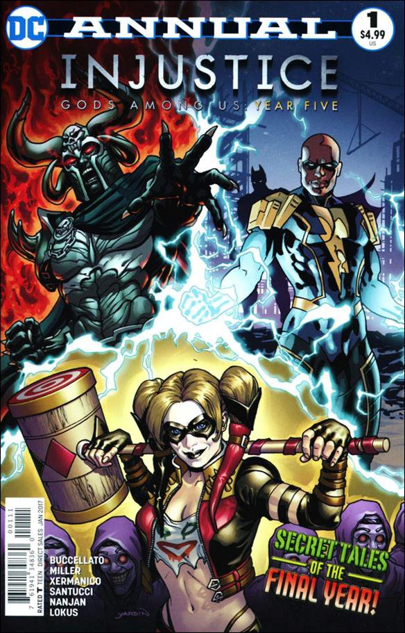 Injustice: Gods Among Us: Year Five Annual #1 [2016] VF/NM DC Comics