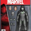 Infamous Iron Man #1 John Tyler Christopher Action Figure Variant Cover [2016] VF/NM Marvel Comics