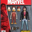 Howard the Duck #11 John Tyler Christopher Action Figure Variant Cover [2016] VF/NM Marvel Comics