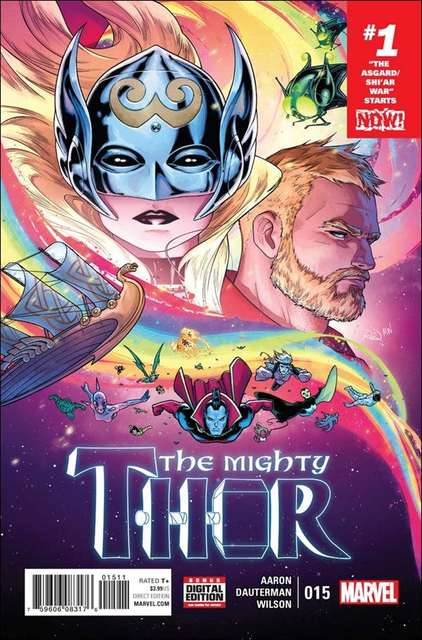 Mighty Thor #15 [2017] VF/NM Marvel Comics