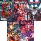 All-New Inhumans #1 2 3 4 5 [2016] VF/NM Marvel Comics