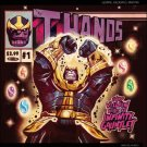 Thanos #1 Mike Del Mundo Hip Hop Variant Cover [2017] VF/NM Marvel Comics